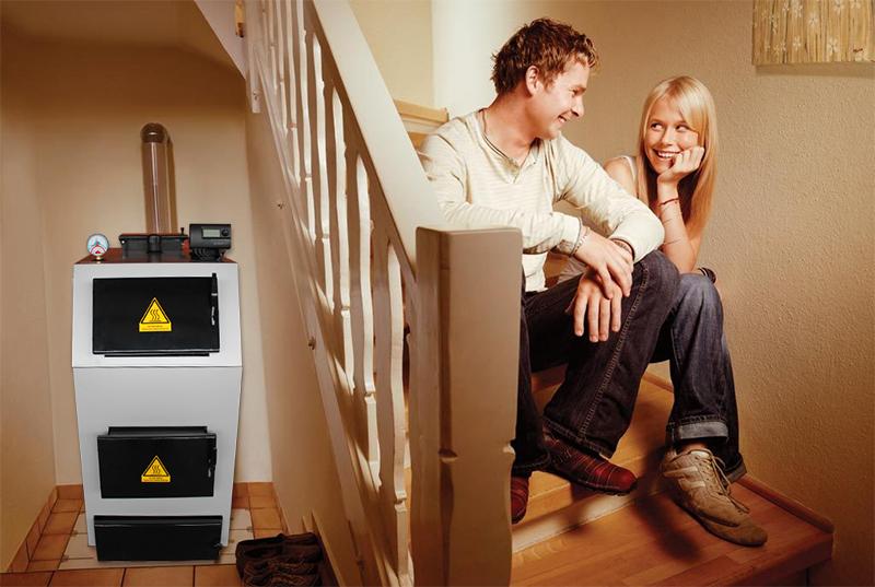 Твердотопливный котел поможет сделать дом теплым и уютным