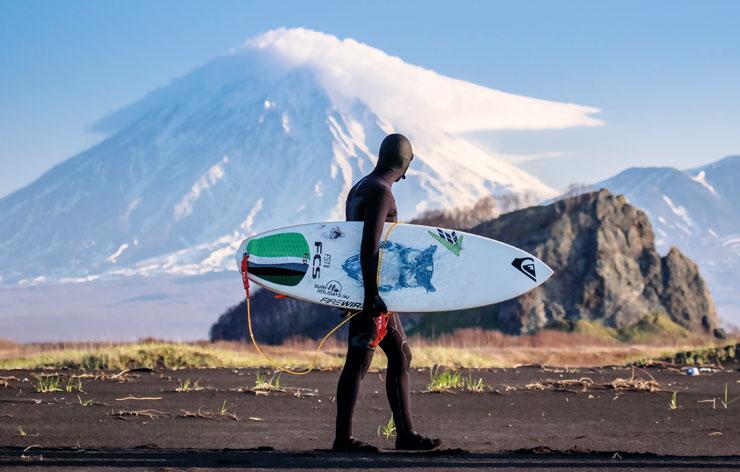 Камчатский серфинг