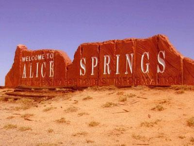 Поездка в Алис-Спрингс