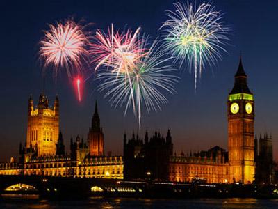 Новогодние праздники в Англии