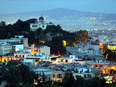 Прогулка по столице Греции