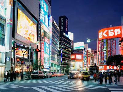 Путешествие Японией. Токио