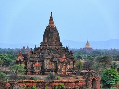 Древний город Баган в Бирме