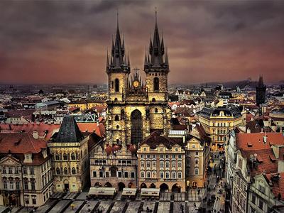 Самые популярные достопримечательности Праги