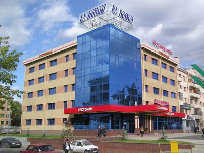 Гостиницы Челябинска на карте города