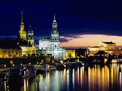 Дрезден: Город «Золотого Всадника»