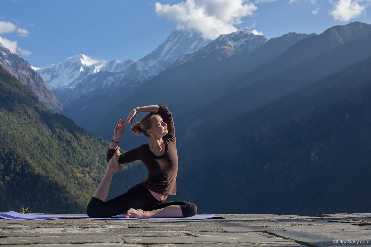 Трек в Гималаях - источник энергии и счастья