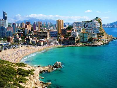 Курортные места Испании