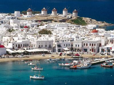 Остров Миконос. Греция