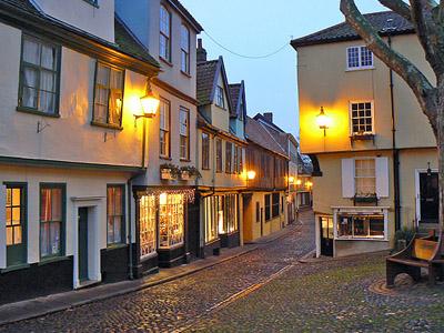 Норидж – столица восточной Англии