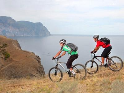 На велосипеде по Крыму