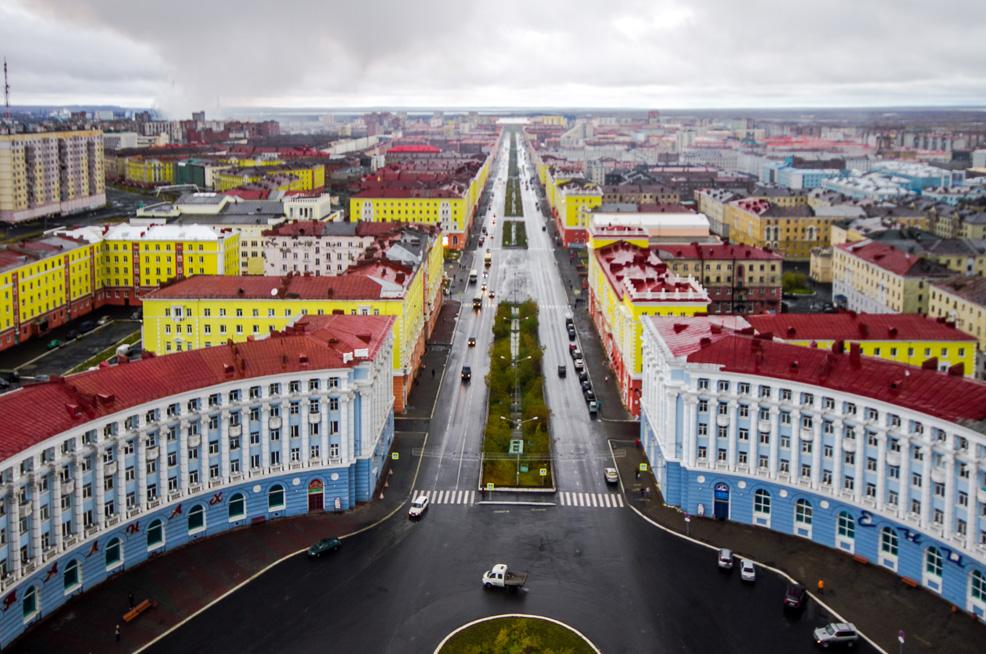 Красоты Севера: Норильск