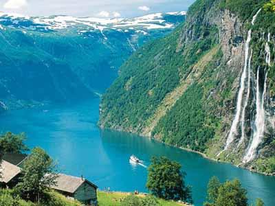 Норвегия. Земля фьордов и водопадов