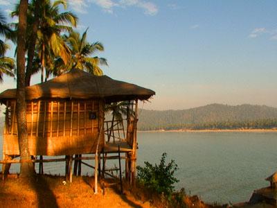 Пляж Палолем в Гоа. Индия