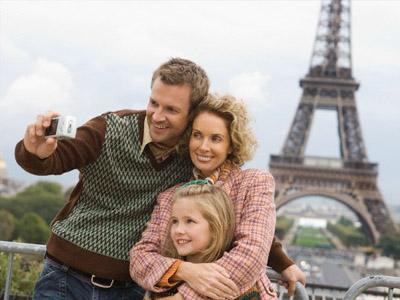 Отдых в Париже всей семьей