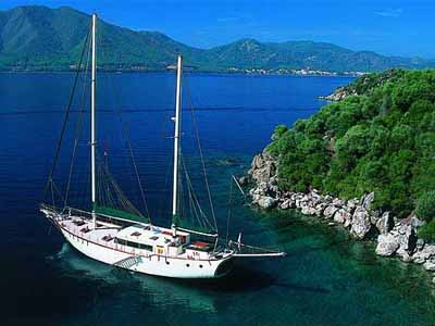 Аренда яхт для отдыха на море