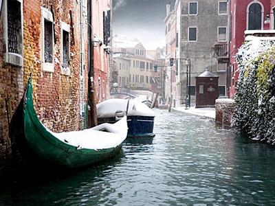 Зимняя сказка в Италии
